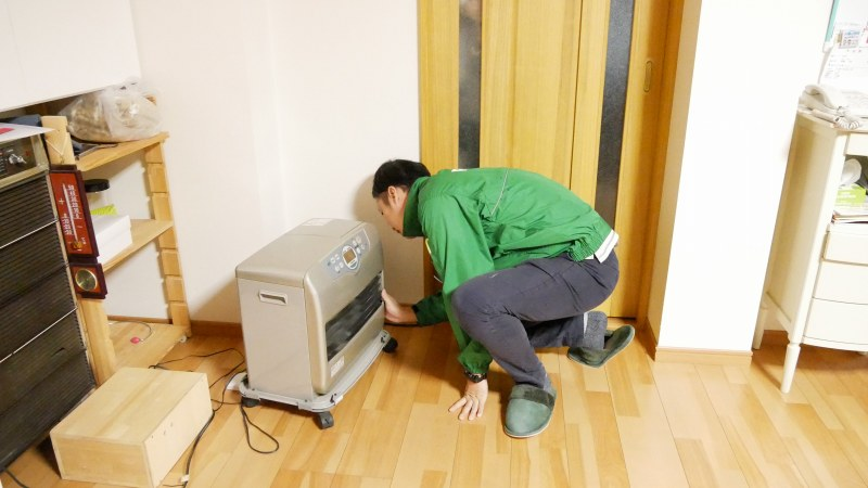 暖房機器のメンテナンス
